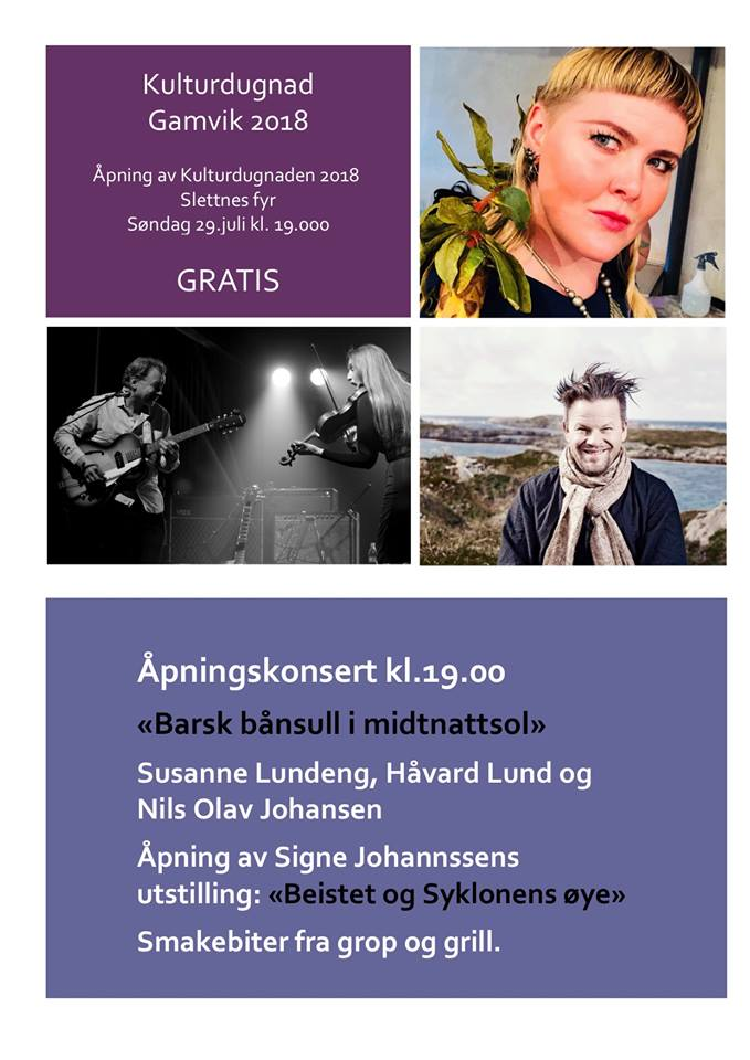 Program Kulturdugnad Gamvik 2018 1