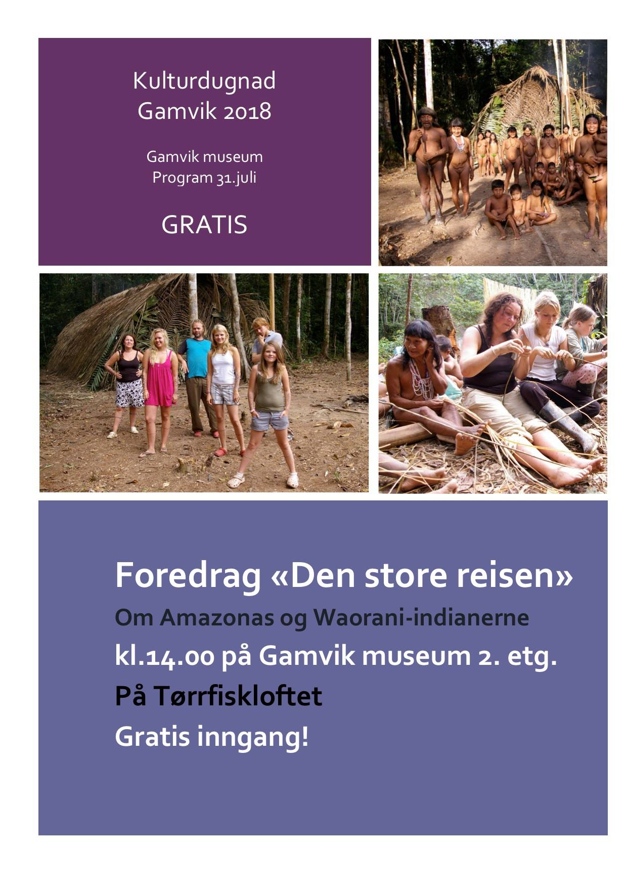Program Kulturdugnad Gamvik 2018 5
